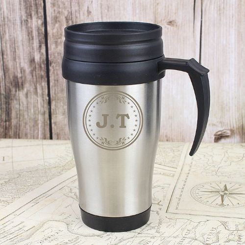Personalised Monogram Travel Mug
